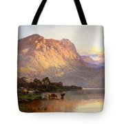 Loch Lomond And A Trout Stream Tote Bag