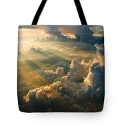 Man's Celestial Choir Tote Bag