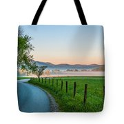 May Morning In The Cove Tote Bag