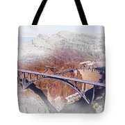 Mike O'callaghan Pat Tillman Memorial Bridge Tote Bag