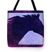 Mindy's Purple Horse  Tote Bag