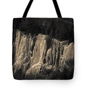 Mountain Side Ice Tote Bag
