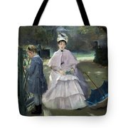 Nanny And Child Tote Bag