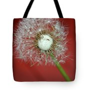 Nature Red Tote Bag
