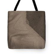 Oak Leaf Abstract Tote Bag