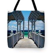 Oceanfront Pavilion Tote Bag
