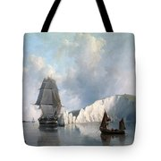 Off The Needles. Isle Of Wight Tote Bag
