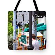 # One Stolen Sign Key West  Tote Bag