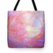 5. Orange, Red, And Yellow 'sun' Glaze Painting Tote Bag