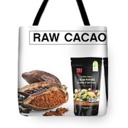 Organic Unroasted Cacao Powder Tote Bag
