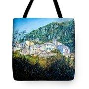 Papigno Village Tote Bag
