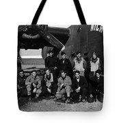 Pilot Crew W Airplane Nightmare 19411945 Black Tote Bag