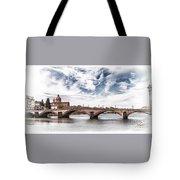 Ponte Alla Carraia, Firenze Tote Bag