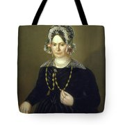 Portrait Of The Wife Of Israel  Tote Bag