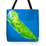 Prized Dolphin Painting Tote Bag