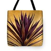 Purple Giant Dracaena Santa Fe Tote Bag