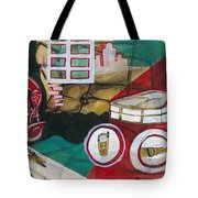 /ready For Journey////// Tote Bag