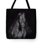 Realistic Horse Tote Bag