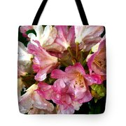 Rhododendron In Pink  Tote Bag
