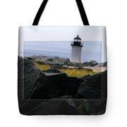 Rocks View Tote Bag