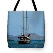 Sailing Virgin Islands Tote Bag