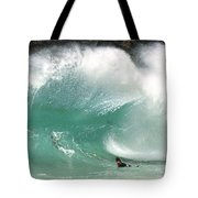Sandy Beach Shorebreak Tote Bag