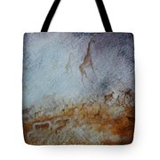 South African  Pertroglyph Tote Bag