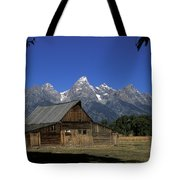 South Moulton Barn Grand Tetons Tote Bag