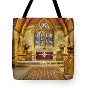 St Lawrence Seal Chart - Chancel Tote Bag