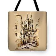 St. Nicholas Church In Prague Tote Bag