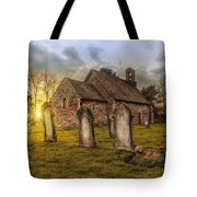 St Oswald At Sundown Tote Bag