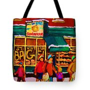 St. Viateur Bagel Family Bakery Tote Bag