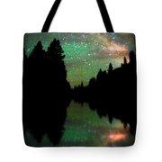 Starry Dreamscape Tote Bag