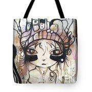 Strange Girl Tote Bag