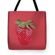 Strawberry In Red I Tote Bag