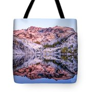 Leprechaun Lake Sunrise Tote Bag