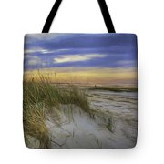 Sunset Beach Dunes Tote Bag