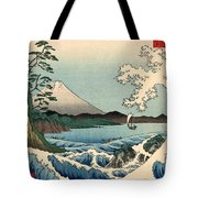 Suruga Satta No Kaijo - Sea At Satta In Suruga Province Tote Bag
