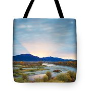 Swan Valley Sunrise Tote Bag