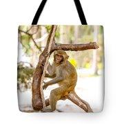 Swinging Monkey Tote Bag