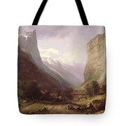 Swiss Scene Tote Bag by Samuel Jackson