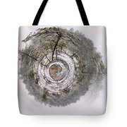 The April World Tote Bag