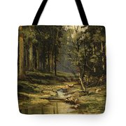 The Forest Brook Tote Bag