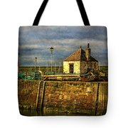 The Harbour At Maryport Tote Bag