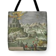 The Lighthouse Of Alexandria Tote Bag