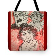 The Marx Brothers Tote Bag