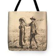 The Peasant Family Tote Bag