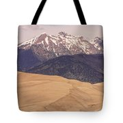 The Wind Carries Sand And Rocks From Many Miles Away. The Dunes Contain Areas Of Black Sand Which A Tote Bag