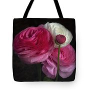 Three And A Half Blooms Tote Bag