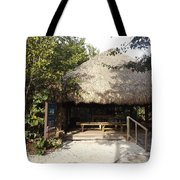 Tiki Hut  Tote Bag